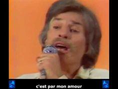 """Jean Ferrat  """"Aimer à perdre la raison"""" Une des plus belles chansons d'amour française. Aimer à ne savoir que dire...."""