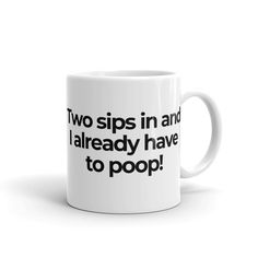 Never fails. Two sips into your morning cup of coffee or tea and 'Uh-Oh'! Coffee Wine, Funny Coffee Mugs, Coffee Cups, Girl Friendship Quotes, Funny Friendship, Friend Quotes, Work Quotes, Quotes Quotes, Funny Water Bottle