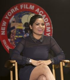 Students gathered in New York Film Academy's Los Angeles theater to screen the hit Bollywood film Tara: The Journey of Love and Passion and participate in New York Film Academy, Film School, Guest Speakers, Bollywood, Student, Stars, Women, Sterne, Star