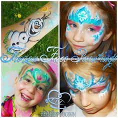 Frozen Face Painting Fever!