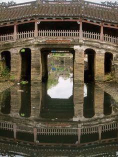 The Japanese Bridge in Hoi An Vietnam