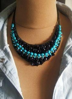 Kup mój przedmiot na #vintedpl http://www.vinted.pl/akcesoria/bizuteria/10979235-noc-kairu-w-turkusie