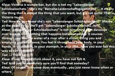 how i met your mother #himym Dialogue between Ted and Klaus. Season 08 Episode 01 (S08E01)