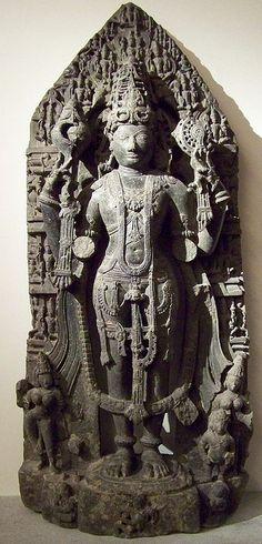 Vishnu - musée Guimet #vishnu #hindu #art #sculpture