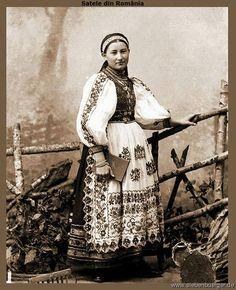 Bistritzer Mädchen aus dem Nösnerland