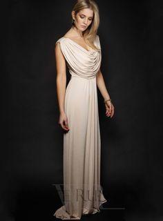 loose flowy bridesmaid dress
