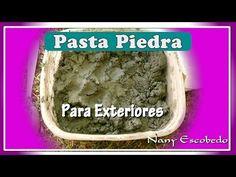 CÓMO HACER PASTA PIEDRA (OTRA FORMA) - YouTube