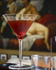 Virgin Manhattan – Sophisticated Mocktail | Convivial | Conviviality { eating & drinking, with accompanying festivity }