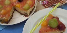 Gyümölcsös túrótorta - NAGYON JÓ (híg, nem lehet szeletelni) Smoothie, Sushi, Protein, Ethnic Recipes, Food, Eten, Smoothies, Meals, Sushi Rolls