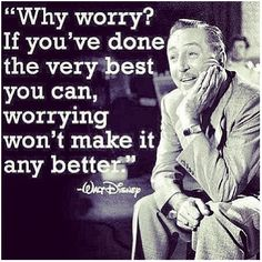 Why worry? Walt Disney
