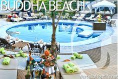 Budha Beach Marbella, Spain.
