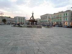 Piazza..Giovinazzo, Italy April 2013