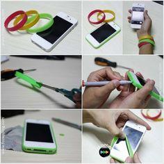 Manualidad para proteger nuestro smartphone