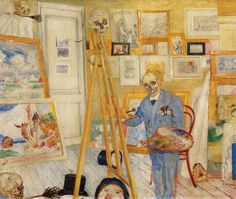 1896 James Ensor Le Squelette Peintre The Skeleton Painter Karl Schmidt Rottluff, James Ensor, Luc Tuymans, Emil Nolde, New York Galleries, Amedeo Modigliani, Royal Academy Of Arts, E Mc2, Edvard Munch