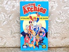 The New Archies VHS 1987 ~ 2 Episodes ~ Archie Comics Animated Series ~ Rare Video ~ Stealing the Show / Wooden It Be Loverly