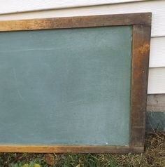 vintage 1960's large green chalkboard wall by RecycleBuyVintage