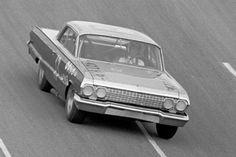 Johnny Rutherford 13 Smokey Yunick 63 Impala
