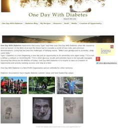 """""""When I was getting used to yesterday, along came today.""""   One Day With Diabetes represents that every Type1 had their own One Day With Diabetes when life ceased to exist as known. In the blink of an eye the future had to consider a world of new rules and unknown denominations. Living had become the challenges of defying nature. https://sites.google.com/a/onedaywithdiabetes.org/one-day-with-diabetes"""