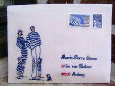 enveloppe Rue du port
