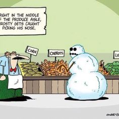 Hahaha Frosty!