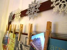 Domestic for Dummies: Holiday Card Display
