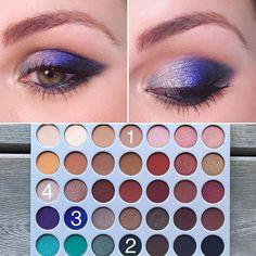 Another fun eye look from the Jackie Hill X Morphe Brushes Palette!-… Another fun eye look from the Jackie Hill X Morphe Brushes Palette!- transition shade Enchanted- outer corner and slightly… Jaclyn Hill Eyeshadow Palette, Morphe Eyeshadow, Eyeshadow Makeup, Makeup Palette, Makeup Brushes, Morphe Palette, Eyeshadows, Jaclyn Hill Palette, Makeup Goals