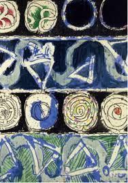 Pierre Alechinsky - The Breath of the Snail Tachisme, Illustrations, Illustration Art, Abstract Expressionism, Abstract Art, Art Pierre, Art Graphique, Art Abstrait, Art Plastique