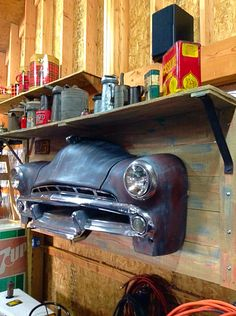 Repurposed I just finished this from leftover parts. Man cave piece 1951 Dodge Coronet