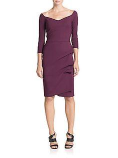 La Petite Robe di Chiara Boni Off-The-Shoulder Ruffle Dress