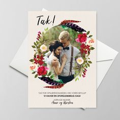 TAKKEKORT - FEATHER FALL - Your Cards, Thank You Cards, Feather, Invitation, Fall, Instagram, Appreciation Cards, Autumn, Quill