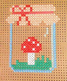 Maxi ponto cruz em pegboard: veja como fazer - Blog do Elo7 Embroidery pegboard ideas