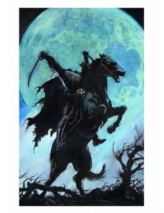 Headless Horseman   http://www.listmyfive.com/bf9c593b/The-Top-Five-Headless-Horseman-Story-Facts