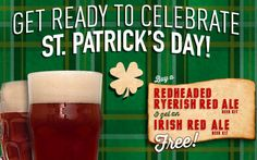 Thanks toHBF ReaderChris for this tip! - 8 Ways to Connect with Homebrew Finds Buy a Redheaded Ryerish Red Ale from Midwest Supplies and they'll toss in a free Irish Red Ale Kit. Both kits are e...