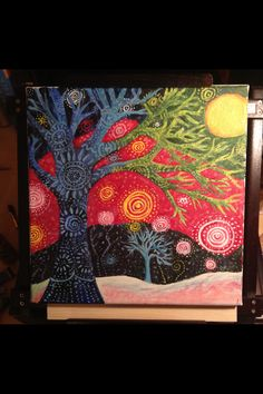 Tree of life...painted for my dear friend.