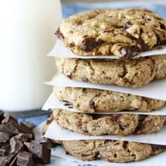 Best Ever Chocolate Chip Cookies (with flaked sea salt)