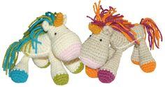 Cómo tejer un unicornio a crochet (amigurumi unicorn tutorial)!