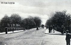 Mill Road C1900 | Flickr - Photo Sharing! At the junction with East Road and Gonville Place (Petersfield to the left of the railings, and opposite is where Parkside swimming pool is situated now)
