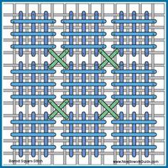 Barred Square Stitch