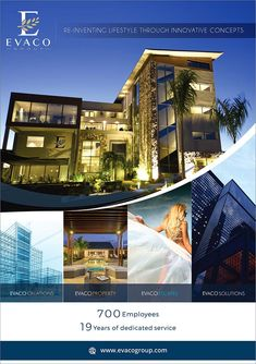 Evaco Group, re-inventing lifestyle through innovative concepts.