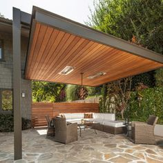 Abramson   Contemporary   Patio   Los Angeles   KDL Architects   Love The  Roof Treatment