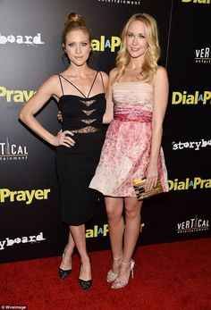 Together again: Pitch Perfect stars Brittany Snow and Anna Camp enjoyed a mini-reunion whe...