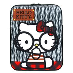 Yes, I just pinned a hello kitty nerd. No, I do not care that hello kitty is just for children they don't get all the fun...