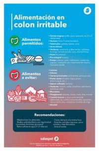 alimentos colon irritable