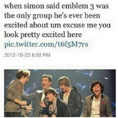 Haha yes!! Seriously I love uncle Simon and all but really don't try to recreate one direction