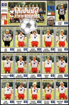 Football Cards, Football Team, Hamburger Sv, European Cup, Liverpool Football Club, Uefa Champions League, Munich, German, Album