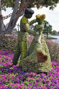 Cinderella 2013 topiary