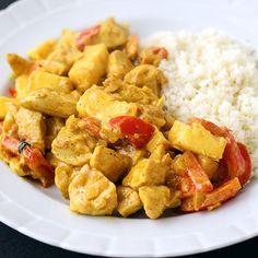Koolhydraat-bewust – De K van Koken Garam Masala, Atkins, Kung Pao Chicken, Low Carb Recipes, Sweet Potato, Paleo, Potatoes, Diet, Vegetables