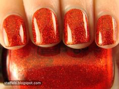steffels.: Lippmann Ruby Red Slippers and Milani Red Sparkle