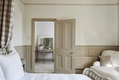 Modern Country Style: Swedish/French Style Victorian House Tour Dulux Chalky Downs paint. Modern Country Style, Country Style Homes, Country Decor, French Country, Decorating Your Home, Interior Decorating, Decorating Ideas, Decor Ideas, Gray Interior