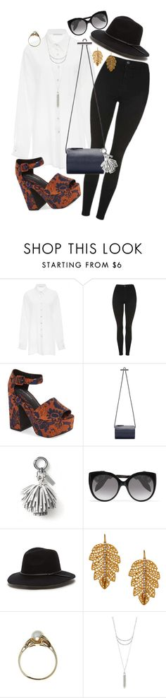 """Untitled #188"" by purplerox24 ❤ liked on Polyvore featuring Christina Economou, Topshop, Jeffrey Campbell, Building Block, Banana Republic, Alexander McQueen, Marika, Charlotte Russe and modern"